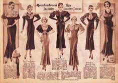 1930's Fashion Style