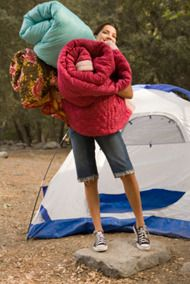 Beauty Essentials for Camping from Oprah.com, great list for all girly girls