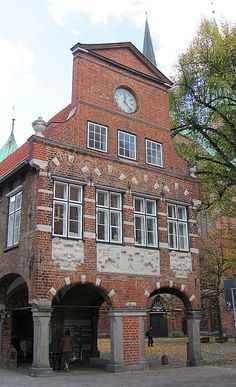 Lübeck: Marienkirchhof - Kanzleigebäude