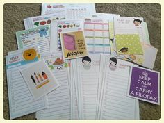 Printables: August | A Post with Lots of Links to Lovely Goodies For Your Filofax