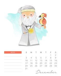Do your kids love Harry Potter? This adorable watercolor cartoon Harry Potter calendar has all of your favorite characters! Harry Potter 2, Natal Do Harry Potter, Harry Potter Navidad, Harry Potter Calendar, Harry Potter Weihnachten, Harry Potter Christmas, Harry Potter Quotes, Hogwarts, Star Wars Cute