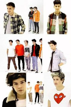 Day 1: Favorite One Direction band member.  All of them<3