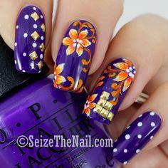 Flower ... Nail Art Design
