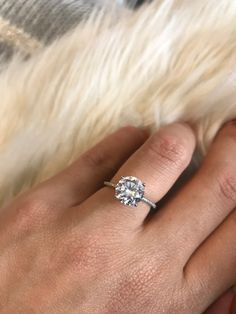 Online Shop 2017 Classic Luxury Real Solid 925 Sterling Silver Ring 3Ct 10 Hearts Arrows Zircon Wedding Jewelry Rings Engagement For Women | Aliexpress Mobile