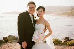 seaside happily ever after / Koru Wedding Style: {Ivory & Blush Seaside California Wedding} Christina & Min