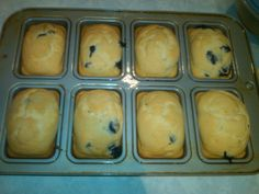 Low iodine blueberry muffins from thyca cookbook. Foods With Iodine, Low Iodine Diet, Thyroid Diet, Thyroid Cancer, Low Sodium Recipes, Diet Recipes, Healthy Recipes, Frozen Blueberries, Blue Berry Muffins