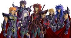 Saint Seiya - Black Gold Saints