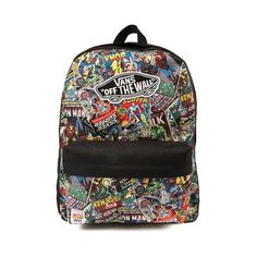 marvel vans off the wall | Vans Marvel Backpack!!!! #BOSS #MYTYPE #WISH I HAD
