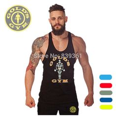 Find More Tank Tops Information about Golds Gym Stringer Tank Top Men Bodybuilding Clothing and Fitness Mens Sleeveless Shirt Sports Vests Cotton Singlets Muscle Tops,High Quality shirt interlining,China shirt short sleeve men Suppliers, Cheap clothing leotards from beihaichun on Aliexpress.com