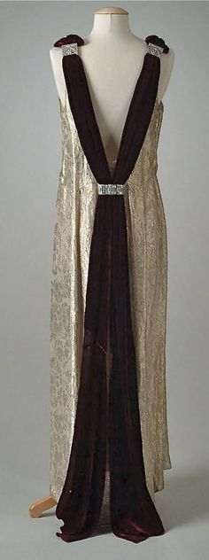 ~Dress (back view) -1934 -The Meadow Brook Hall Historic Costume Collection                                                                                                                                                                                                                                                                                                                              1930s~: