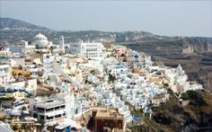 CITY YEAST -Santorini 聖托里尼 希臘 worldwide city color 都市色彩世界觀 google map