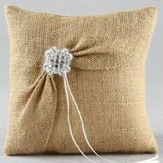 Burlap and Lace Ring Pillow Garbo Burlap Ring Bearer Pillow Ring Bearer Pillows, Ring Pillows, Burlap Pillows, Decorative Pillows, Throw Pillows, Owl Pillows, Tshirt Garn, Lace Ring, Ring Pillow Wedding