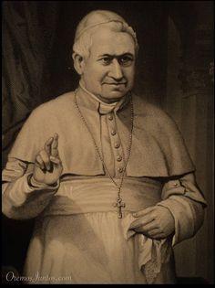 Papa Pío IX, (grabado de 1873)