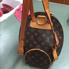 Additional pics of Louis Vuitton Additional pics of strap damage Louis Vuitton Bags Backpacks