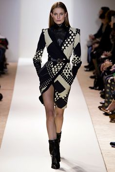 Emanuel Ungaro Fall 2013 Ready-to-Wear Fashion Show - Nadja Bender (OUI)