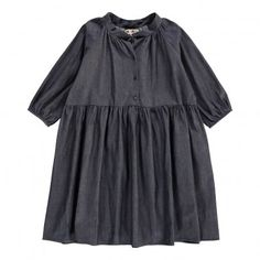 Robe Boutonnée Bastille Denim