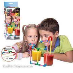 Drinking Straw Construction Kit