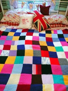 What a great idea for a blanket!