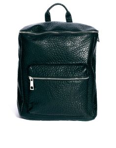 Boxy Oversized Pebble Backpack