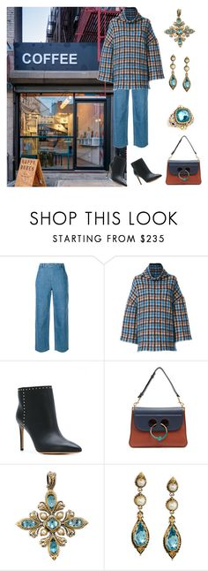 """My second home"" by karen-galves ❤ liked on Polyvore featuring Coffee Shop, Vanessa Seward, STELLA McCARTNEY, Valentino, J.W. Anderson, Konstantino and coffeebreak"