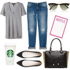 Running errands - early fall look