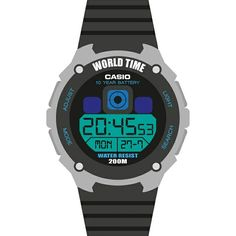 Flat design Casio 200m