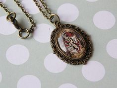 Harry Potter Gryffindor House Small Cameo by LoveLittleTreasures