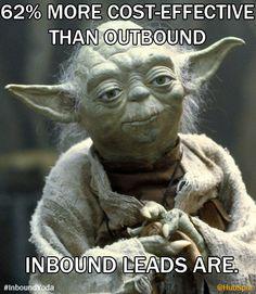 Yoda the Inbound Marketer: