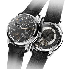 Very big news last year, in every possible sense of the word, was Vacheron Constantin's launch of the ref. 57260 pocket watch, the most complicated watch in the world. It had myriad complications, many astronomical in orientation, and some quite unusual (including a lunisolar Hebraic perpetual calendar). For 2017, Vacheron Constantin has announced a new highly-complicated watch; this time, however, it's a wristwatch, which focuses on astronomical indications in a very pure way. This is the…