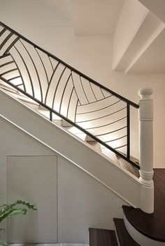 Metal Stair Railing, Staircase Railings, Staircase Design, Banisters,  Railing Design, Stair