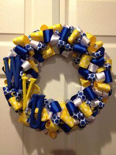 WVU Wreath....