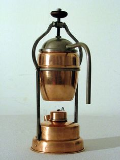 COZZANTE espresso machine on alcohol burner, ca.1920 Coffee, Tea & Espresso Appliances - http://amzn.to/2iiPu7K