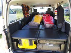 ハイエース200系バンFD-BOX5 ナンガ(NANGA)のシェラフとペンドルトン Toyota Hiace