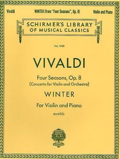 Victor: 'Will this put you to sleep?' Sang:'I love Vivaldi!' Victor: 'What did you say?!' Sang: 'I said I love Vivaldi! I Summer is ok, I like Winter best though' Victor: *Goes out and buys Winter* Later in the series: Victor: *Plays Winter* <3 RML