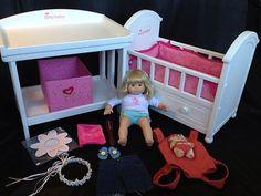 American Girl® Princess Bitty Baby Book   Bitty baby and American girls
