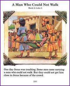 Jesus Heals a Man Who Could Not Walk (Story) - Kids Korner - BibleWise