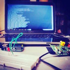 #rasberrypi2 #arduino #linux by iboudhayan