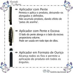 Bom dia amorinhas 💜 !!! Post 3 Confira todas as dicas no blog!!!  http://cantinhodasamoras.com.br/escovinhas-dos-rimeis-para-que-servem-cada-tipo/