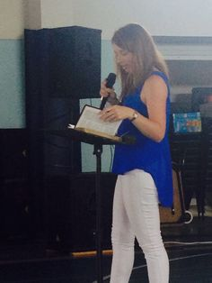 YFCA Intern preaching the Gospel