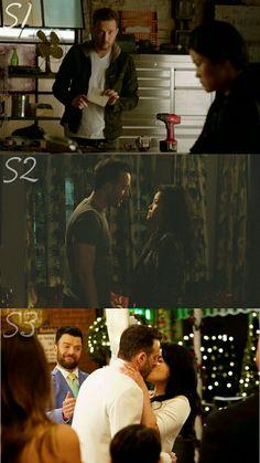Evolution of Toby & Happy's relationship