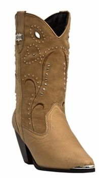 Dingo Women's Chestnut Fashion Leather Boots DI588
