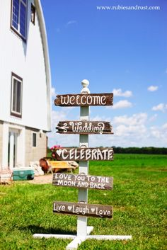 Barn wood signs. Wedding signs. #weddingsigns #barnwoodsigns #bride