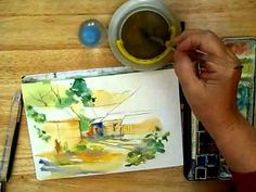 Back Alley Plein Air Demonstration, with Cathy Johnson - YouTube