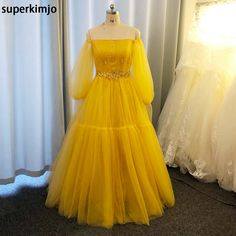 Cheap Prom Dresses, Formal Dresses, Beaded Prom Dress, Tulle, Gowns, Long Sleeve, Sleeves, Fashion, Dresses For Formal