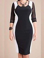 Women's Fashion Plus Size Clubwear Sexy Big Size Party Dress – AUD $ 15.72