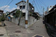 松山市の路地 その3立花町 - 鐘馗(しょうき)さんと名城めぐり&好古揮毫石碑紀行