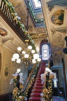 Victoria Mansion, Portland, ME. Staircase