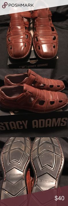 Stacy Adams Brown Shoes Fast Shipping Size 14 Stacy Adams Shoes Loafers & Slip-Ons