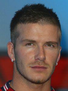 Fußballer Frisuren: David Beckham | Trend Haare