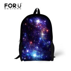 Amazing Galaxy Printing Backpacks For Teenagers Children Wonderful Universe Mochila Infantil Feminina School Students Book Bags